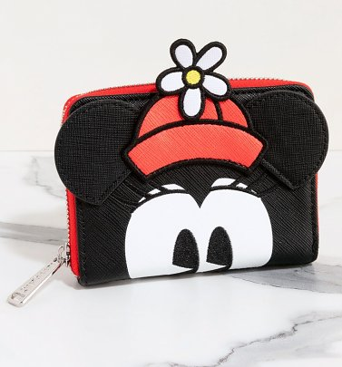 Loungefly Disney Positively Minnie Polka Dot Zip Around Wallet