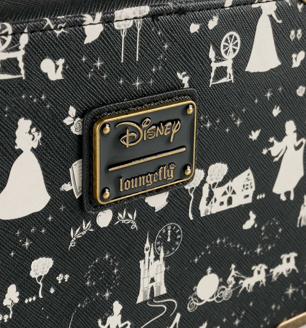 Loungefly Disney Princess All Over Print Box Crossbody Bag