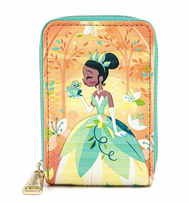 Loungefly Disney Princess And The Frog Tiana Zip Around Wallet