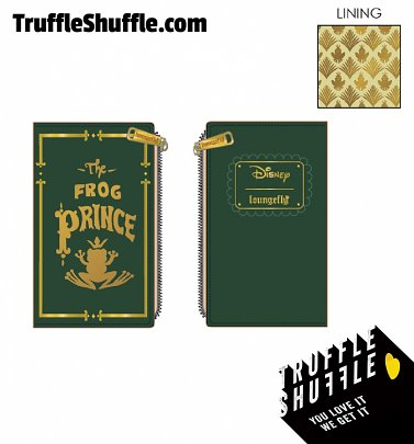Loungefly Disney Princess and The Frog The Frog Prince Wallet