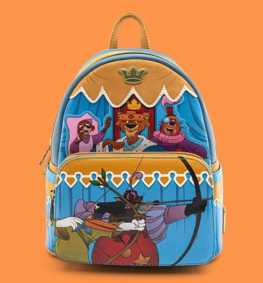 Loungefly Disney Robin Hood Archery Tournament Mini Backpack