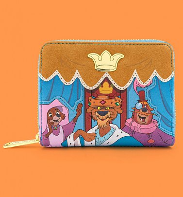 Loungefly Disney Robin Hood Archery Tournament Zip Around Wallet