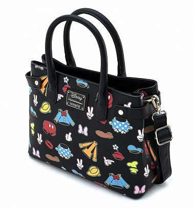 Loungefly Disney Sensational Six Outfits Crossbody Bag
