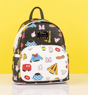 Loungefly Disney Sensational Six Outfits Mini Backpack