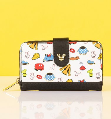 Loungefly Disney Sensational Six Outfits Wallet