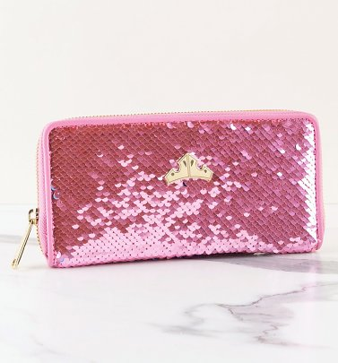 Loungefly Disney Sleeping Beauty Reversible Sequin Wallet