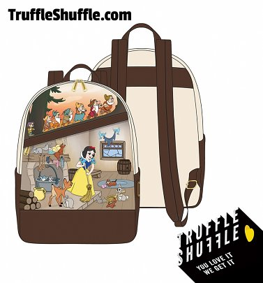 Loungefly Disney Snow White And The Seven Dwarfs Scene Mini Backpack