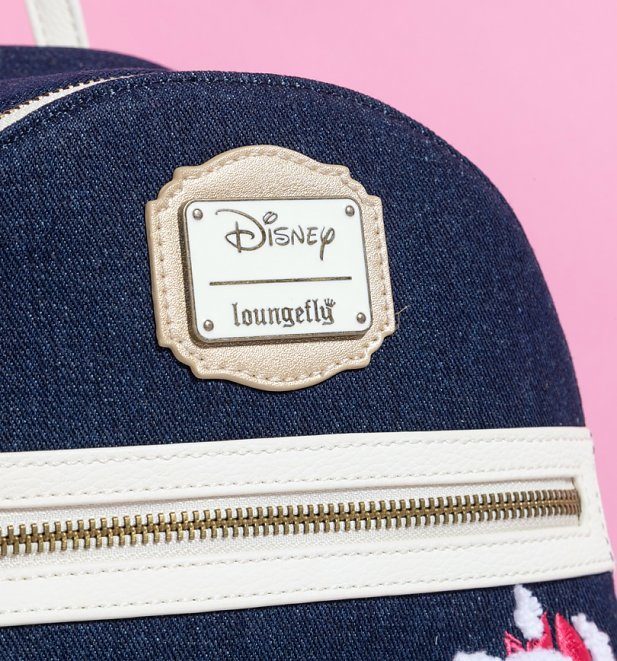 Loungefly Disney The Aristocats Marie Denim Mini Backpack