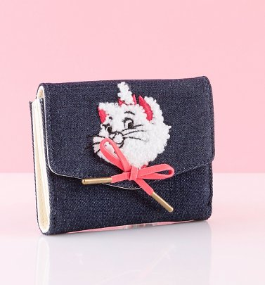 Loungefly Disney The Aristocats Marie Denim Purse