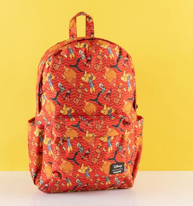 Loungefly Disney The Emperor's New Groove All Over Print Nylon Backpack