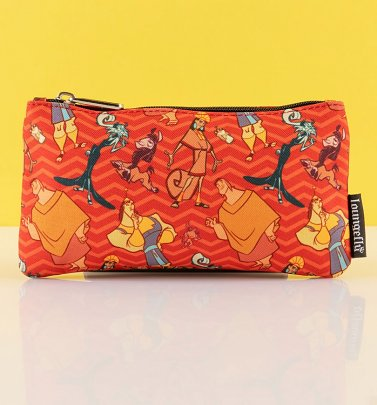 Loungefly Disney The Emperor's New Groove All Over Print Nylon Pouch