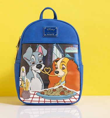 Loungefly Disney The Lady and The Tramp Mini Backpack