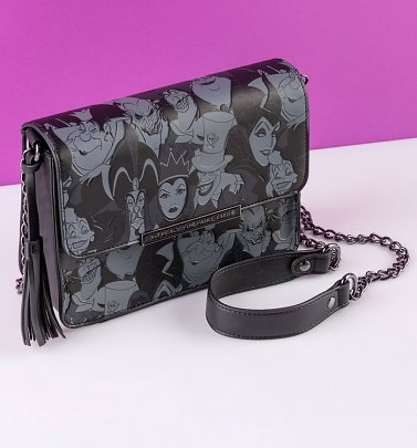 Loungefly Disney Villains Crossbody Tassel Bag