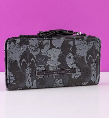 Loungefly Disney Villains Tassel Wallet