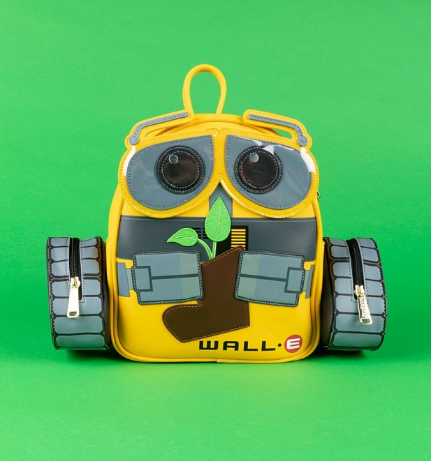 Loungefly Disney WALL-E Plant Boot Mini Backpack