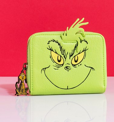 Loungefly Disney Dr Seuss The Grinch Wallet