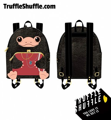Loungefly Fantastic Beasts Niffler Plush Cosplay Mini Backpack