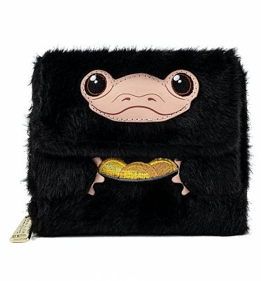 Loungefly Fantastic Beasts Niffler Plush Wallet