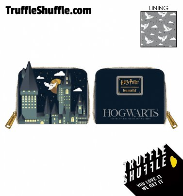 Loungefly Harry Potter Hogwarts Castle Zip Around Wallet