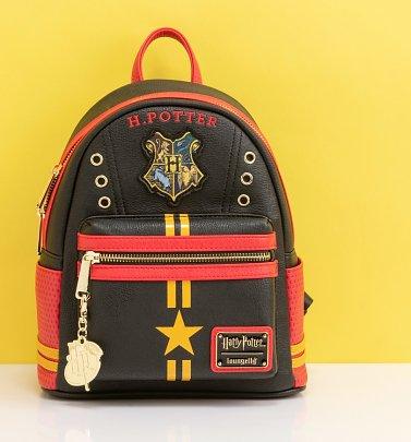 Loungefly Harry Potter Hogwarts Crest Mini Backpack