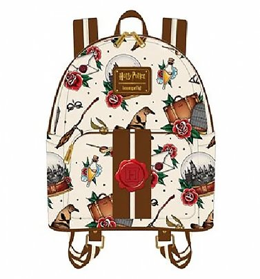 Loungefly Harry Potter Tattoo Mini Backpack