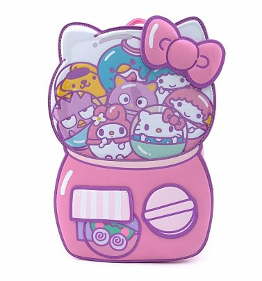 Loungefly Hello Kitty Kawaii Gumball Machine Backpack