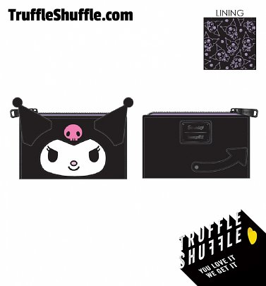 Loungefly Hello Kitty Kuromi Cosplay Flap Wallet