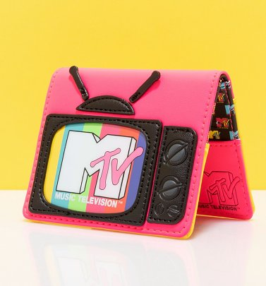 Loungefly MTV Television Bi-Fold Wallet