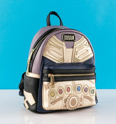 Loungefly Marvel Avengers Thanos Infinity Gauntlet Mini Backpack from Loungefly