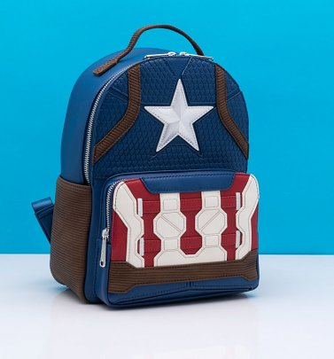 Loungefly Marvel Captain America Hero Backpack