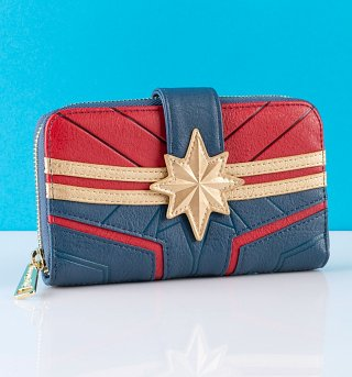 Fashion Marvel Captain America Passport Wallet Free Item