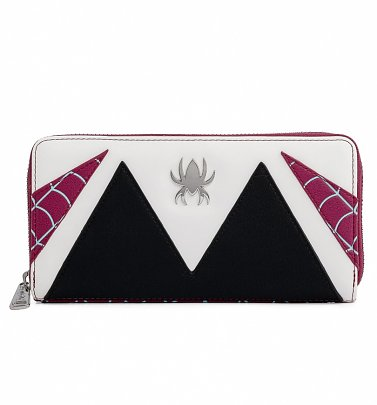 Loungefly Marvel Spider Gwen Cosplay Zip Around Wallet