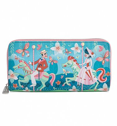 Loungefly Mary Poppins Jolly Holiday Zip Around Wallet