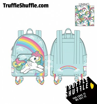 Loungefly My Little Pony Starshine Rainbow Mini Backpack