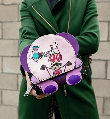 Loungefly Nickelodeon Invader Zim Doom Mobile Tri-fold Wallet