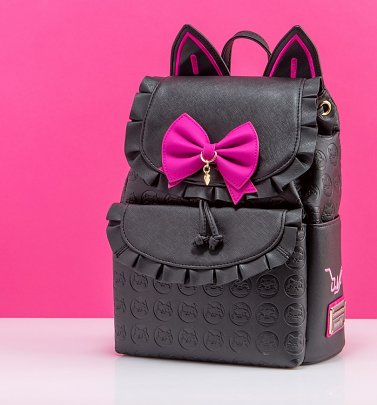 Loungefly Overwatch D.Va Black Cat Cosplay Mini Backpack