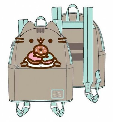 Loungefly Pusheen Plate O Donuts Cosplay Mini Backpack