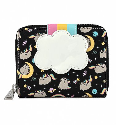 Loungefly Pusheen Rainbow Unicorn Zip Around Wallet