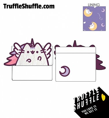 Loungefly Pusheen Unicorn Plush Flap Zip Wallet