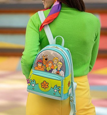 Loungefly Scooby Doo Mystery Machine Mini Backpack