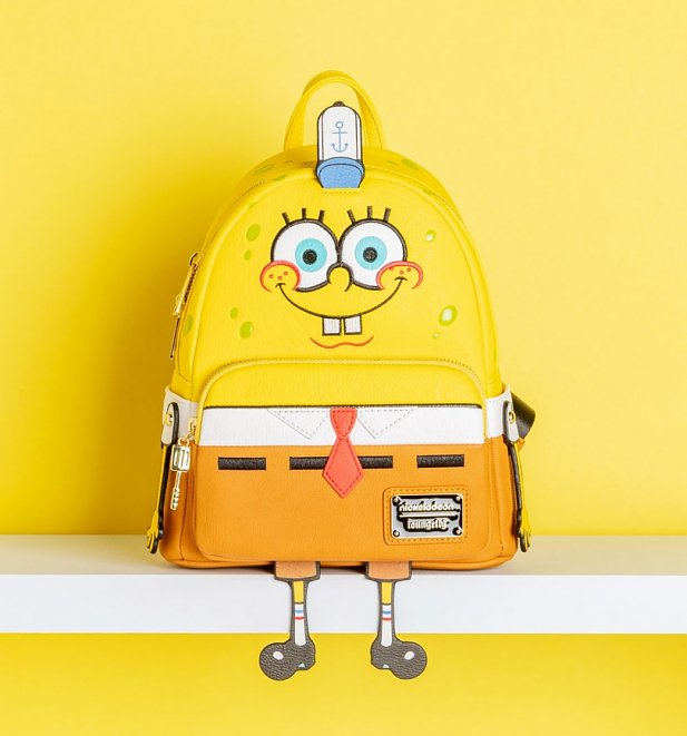 Loungefly SpongeBob Squarepants Mini Backpack