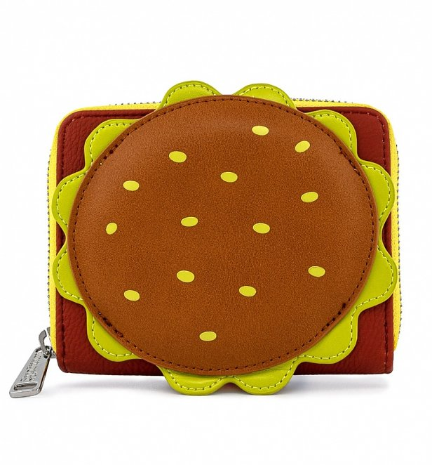 Loungefly SpongeBob Squarepants Plankton Krabby Patty Zip Around Wallet