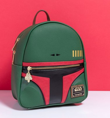 Loungefly Star Wars Boba Fett Mini Backpack