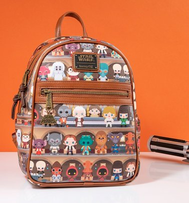 Loungefly Star Wars Cantina Mini Backpack