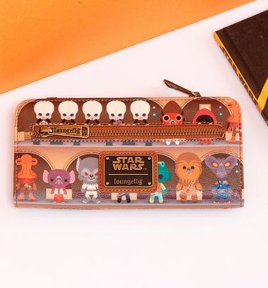 Loungefly Star Wars Cantina Wallet