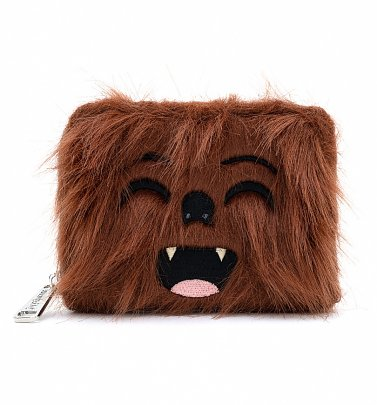 Loungefly Star Wars Chewbacca Faux Fur Wallet
