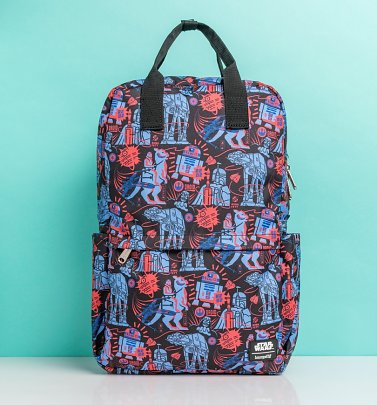 Loungefly Star Wars Empire Strikes Back Nylon Backpack