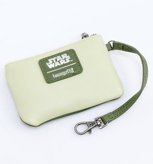 Loungefly Star Wars Endor Green Mini Backpack With Purse