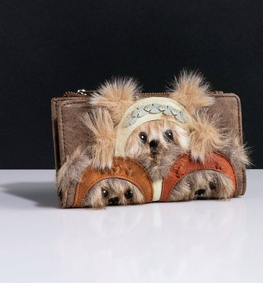 Loungefly Star Wars Ewok Trio Wallet
