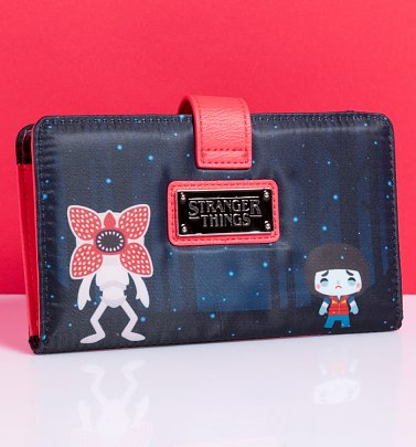 Loungefly Stranger Things Printed Wallet